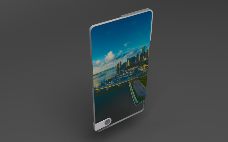 Gina – Future Glass Smartphone Concept